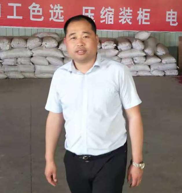 金乡县久鑫农业发展有限公司总经理孙永辉